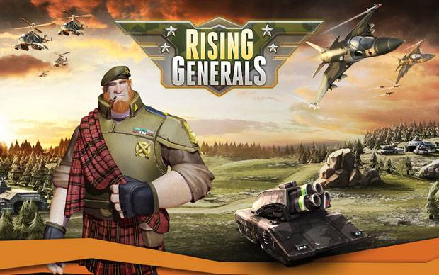 Rising Generals startet in Closed Beta Phase