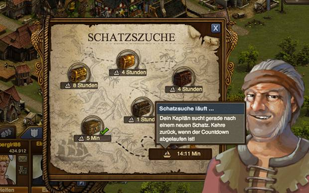 Forge of Empires Schatzsuche - So funktionierts