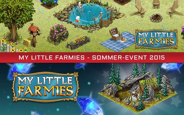 My Little Farmies - Sommer-Aktion mit neuer Deko