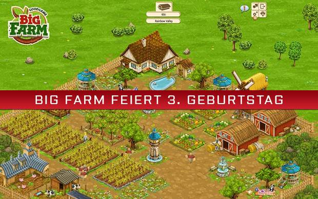 Big Farm - Geburtstags-Event