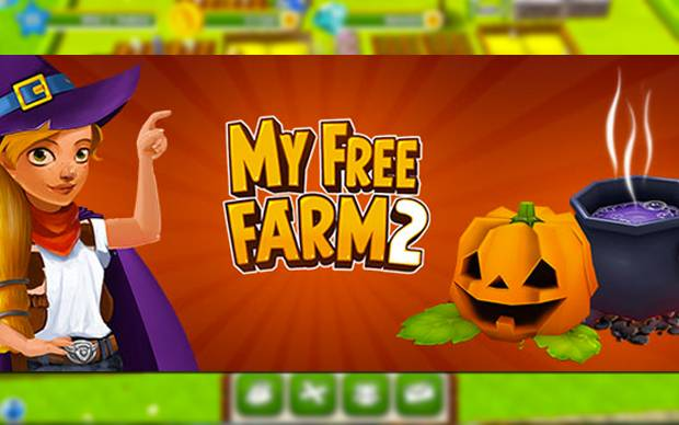 My Free Farm 2 - Kürbis-Aktion zu Halloween