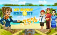 My Sunny Resort - Rabatt-Aktion: Spare 25 %