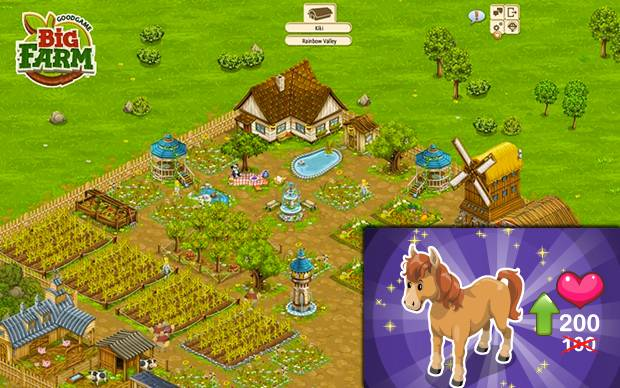 Big Farm - Pferderanch Update: Pferde bis Level 200